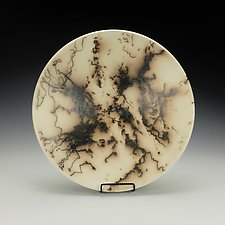 Horse Hair Raku Bowl I by Lance Timco (Ceramic Bowl)