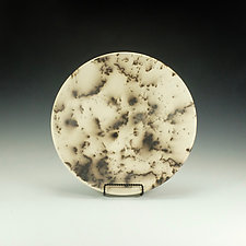 Horsehair Raku Bowl II by Lance Timco (Ceramic Bowl)