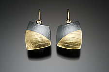 Chubby by Tom McGurrin (Gold & Silver Earrings)