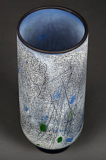 Misty Melody by Eric Bladholm (Art Glass Vessel)
