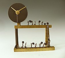 Passing the Hours by Mary Ann Owen and Malcolm  Owen (Metal Clock)