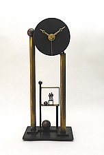 For All Time by Mary Ann Owen and Malcolm  Owen (Metal Clock)