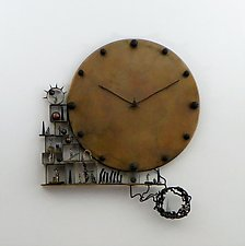 As Time Goes By by Mary Ann Owen and Malcolm  Owen (Metal Clock)