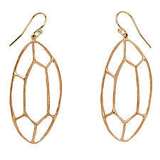 Facet Earring by Julie Cohn (Bronze Earrings)