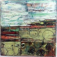 Landscape Study by Barbara Gilhooly (Acrylic Painting)