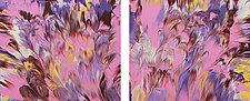 Pink Drift by Cassandra Tondro (Acrylic Painting)