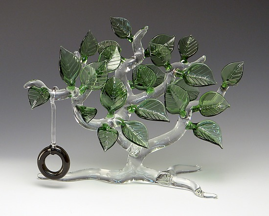 Summertime Tree By Bandhu Scott Dunham Art Glass