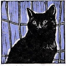 Jack by Lisa Kesler (Linocut Print)