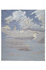 Clouds by Sherry Schreiber (Fiber Wall Hanging)