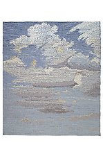 Clouds by Sherry Schreiber (Fiber Wall Art)