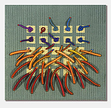 Earth Series No. 18 by Laurie dill-Kocher (Fiber Wall Art)