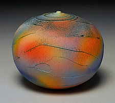 Rainbow Wrap by Nicholas Bernard (Ceramic Vessel)