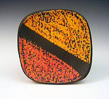 Strata Plate by Thomas Harris (Ceramic Plate)