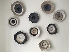 Life's Layers by Loren Yagoda (Ceramic Wall Sculpture)