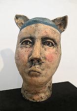 Edgar by Ashley Benton (Ceramic Sculpture)