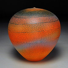 Sunset Spiral by Nicholas Bernard (Ceramic Vessel)