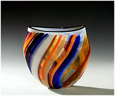 Carnival by Bengt Hokanson and Trefny Dix (Art Glass Vase)