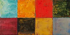 Autumn 20122 by Ginny Krueger (Encaustic Painting)