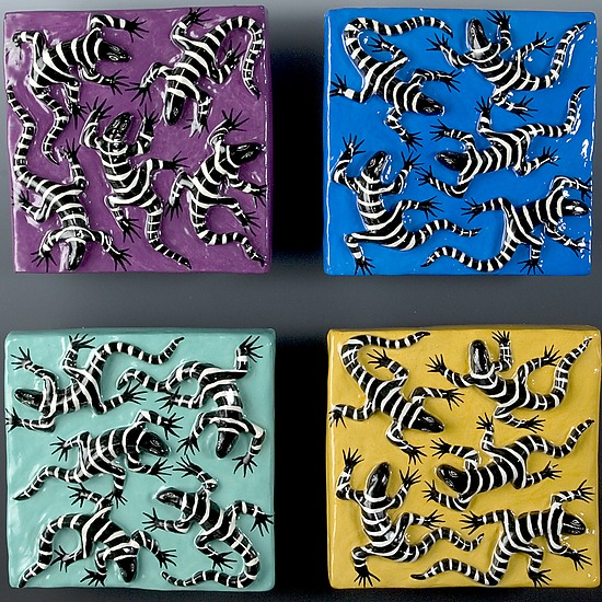 Lizard Tile Series