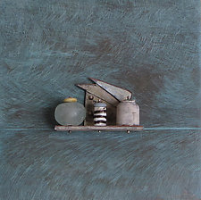 Bronze Still Life 68 by Jack McLean and Alice McLean (Metal Wall Sculpture)