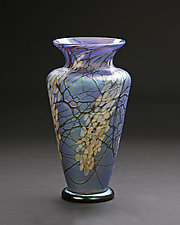 Large Magnolia Vase by Bryce Dimitruk (Art Glass Vase)