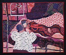 Sleeping Beauty by Pamela Allen (Fiber Wall Hanging)