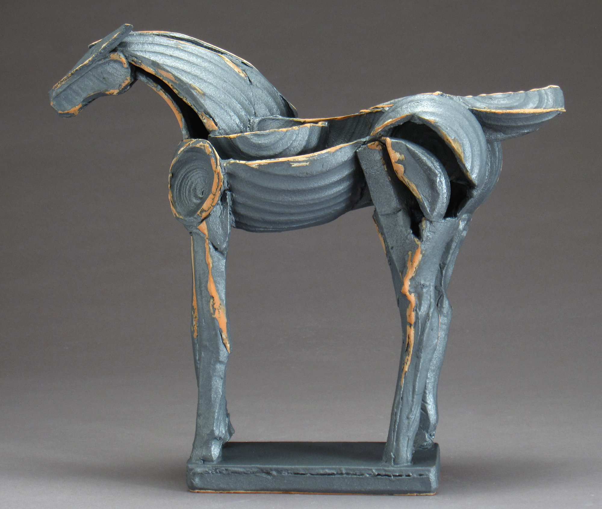 Iron Horse Tribute Series By Jeri Hollister Ceramic