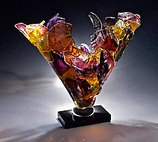 Westward by Caleb Nichols (Glass Sculpture)
