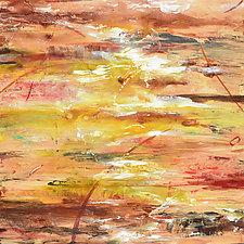 Aquifer Strata XII by Stephen Yates (Acrylic Painting)