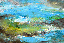 Sea Sky by Stephen Yates (Acrylic Painting)