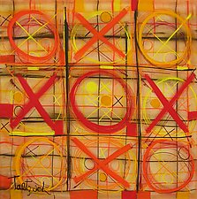Tic-Tac-Two by Lynne Taetzsch (Acrylic Painting)