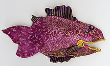 Berry by Byron Williamson (Ceramic Wall Sculpture)