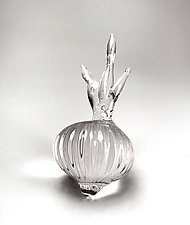Glass Onion by Frost Glass (Art Glass Sculpture)