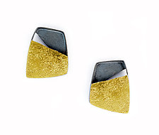 Geo Earrings by Sydney Lynch (Gold & Silver Earrings)