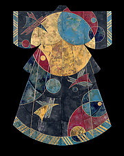 Birds in Space by Marcia Jestaedt (Giclee Print)