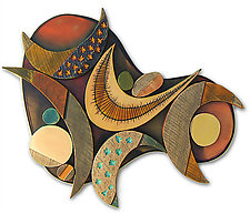 No. 136, Yes We Have No Bananas by James Nelson (Wood Wall Sculpture)
