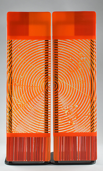 Impact  ColorCentric Orange Totem Diptych