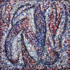 Plum Village by Lynne Taetzsch (Acrylic Painting)