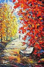 Fall Foliage by Maya Green (Oil Painting)