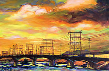 Skylines by Bonnie Lambert (Oil Painting)