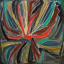 Abstract Art Sixteen by Lynne Taetzsch (Acrylic Painting)
