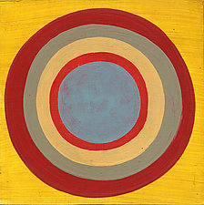 Circles! #21 by Laura Nugent (Acrylic Painting)