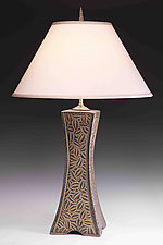 Grove Arcade Lamp by Jim and Shirl Parmentier (Ceramic Table Lamp)