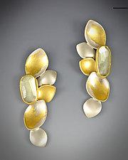 Beryl Earrings by Judith Neugebauer (Gold, Silver, & Stone Earrings)