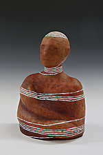 Entwined #3 by Beth Ozarow (Ceramic Sculpture)