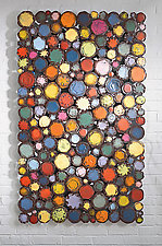 Confectioner's Flag by Susan Madacsi (Metal Wall Sculpture)