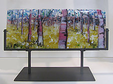 Fantasy of Trees II by Alice Benvie Gebhart (Art Glass Sculpture)