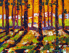 Firerise by Caroline Jasper (Oil Painting)