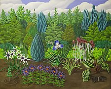 The Garden by Jane Troup (Giclee Print)