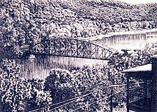 Connecticut River View by William Hays (Etching)